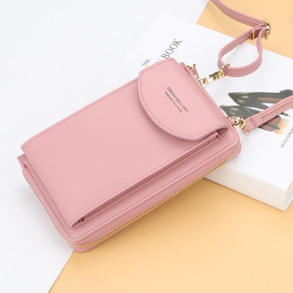 Women leather clutch