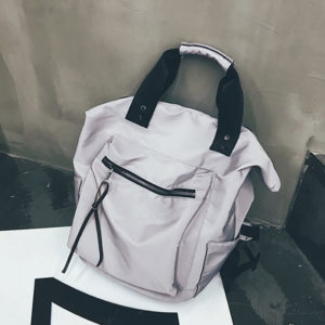 Women Casual Nylon Backpack